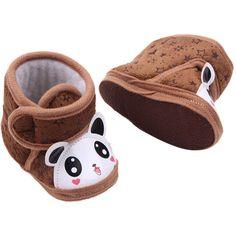Gar/çons et Filles Chausson Mignon Jeans Chaussures Premiers Pas Chic-Chic Chaussures Souple B/éb/é et Bambin Botte de Neige