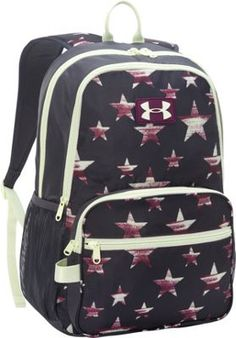 300762534b Under Armour Great Escape Backpack Lead Beet Sugar Mint - via eBags.com!