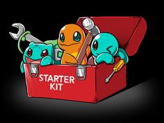 You can't get this trainer's toolkit at the hardware store! Get the Starter Kit t-shirt only at TeeTurtle!