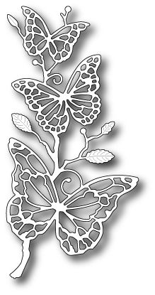 Memory Box - Die - Colette Butterfly Branch 18.99