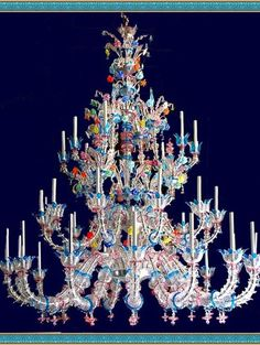 Yet another classical murano glass lighting masterpiece ❦❧