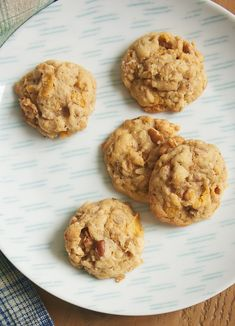 Cereal Cookies, Drop Cookies, Oatmeal Cookies, Yummy Cookies, Yummy Treats, Sweet Treats, Best Dessert Recipes, Fun Desserts, Cereal Recipes