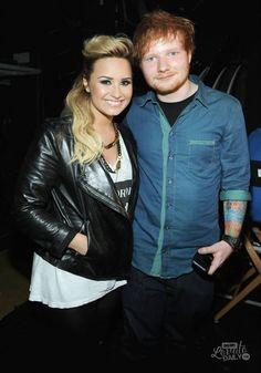 Demi Lovato & Ed Sheeran