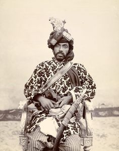 Sir Mir Mohammed Khan - Ruling Chief of Kalat, Baluchistan 1864