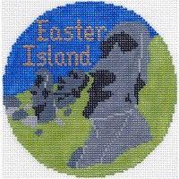Easter Island ornament
