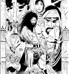 Samson, cover by Lee Weeks