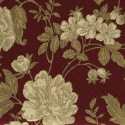 02-20-12.  Walmart.  HD Cotton Duck Floral.  The vine floral has just enough linear detail to complement this cloth's textural appeal. It features warm cream flowers and soft beige leaves on a crimson background.   HD Cotton Duck Floral Fabric:  •Vine floral with linear detail.  Product in Inches (L x W x H):  30.0 x 8.5 x 2.0.  Origin of Components:     Imported.  Walmart No.:001977379  www.walmart.com/ip/HD-Cotton-Duck-Floral-Fabric/17190574.  Price per Yard Not listed.