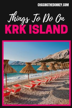 From discovering ancient history, to sunbathing and scuba diving, to enjoying local cuisine, there are many things to do on Krk Island. Hawaii Travel, Summer Travel, Tahiti Tattoo, Fly To Fiji, Lanai Island, Where Is Bora Bora, Croatia Travel, Places To Travel, Travel Destinations