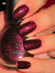 Nicole by O.P.I. Something About Color- Sounds Grape to Me
