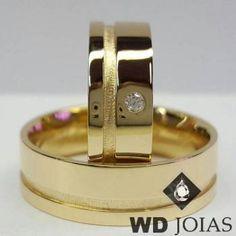 8f0a559b153 Alianças para casamento de moeda antiga polida e fosco 9mm MJM41. Lindas  alianças de moeda