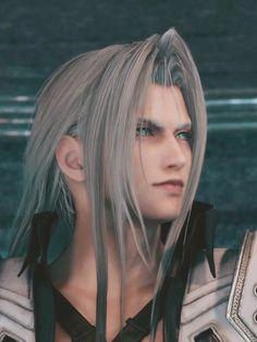 Final Fantasy Cloud, Final Fantasy Artwork, Final Fantasy Characters, Final Fantasy Vii Remake, Fantasy Male, Fantasy World, Geek Culture, Sephiroth Cosplay, Princess Mononoke