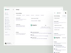 Profile Settings, Ui Inspiration, User Interface