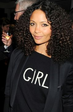thandie newton on curls. <3 her!