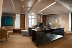 Commercial Interior Designers in London. We speacialise in delivering high-end and bespke interior design solution to commercial interior projects. Interior Design London, Commercial Interior Design, Commercial Interiors, Bolon Flooring, Office Reception Design, Office Interiors, Design Interiors, Luxury Office, Bespoke Furniture