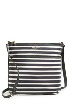 Kate Spade New York Stripes Bag | My mom cruises to the Bahamas and brings me this back as a souvenir. So much better than a t-shirt!
