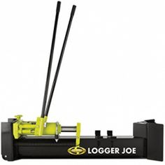 Sun Joe LJ10M Logger Joe 10 Ton Hydraulic Log Splitter Manual Log Splitter