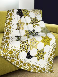"""Calypso"" by Sandi Irish (from Quilt Trends Magazine Summer 2013)"