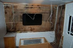how to repair rv camper water damaged walls.. Might be good for later on one day