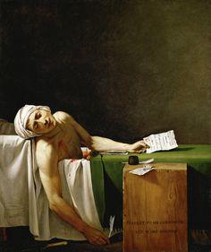 Jacques-Louis David - La Mort de Marat - Jean-Paul Marat - Wikipedia, the free encyclopedia