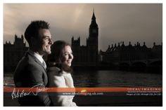 Rock the Frock. Post wedding portraits. Big Ben. London. South Bank. Photography