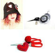 For #TheCreativeDay Filo e Colori di Ila (Ilaria Anselmi) ricicla, ricrea, riusa: accessori e bijoux originali per uno stile ecofriendly, nuovo e glam.  Fb http://www.facebook.com/FiloeColoridiIla Twitter http://twitter.com/#!/FiloColoridiIla Pinterest  http://www.pinterest.com/ilaria_anselmi1/