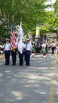Remembering the fallen and thanking all who served - Nantucket Memorial Day parade...