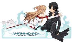 Sword Art Online - Kirito & Asuna