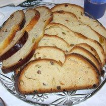 Chalka -- Polish Chalka is a slightly sweet, eggy braided raisin bread (raisins are optional). Chalka is often served at Easter and Christmas. It's especially great for ham sandwiches -- the sweet and salty combination is unbeatable. Yum - leftover Easter ham idea!
