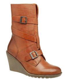bcf66f0cbe6d Kickers Camel Heroine2 Wedge Boot