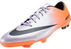 Nike Youth Mercurial Vapor IX FG Soccer Cleats - Metallic Mach Purple with Orange...Available at SoccerPro.