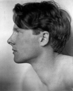 "War poet Rupert Brooke once went skinny dipping with none other than Virginia Woolf. Leonard Woolf recalled how Brooke was ""rather a dangerous friend"" Virginia Woolf, Vanessa Bell, Poses, Rupert Brooke, Duncan Grant, Bloomsbury Group, English Poets, Remembrance Sunday, Writers And Poets"