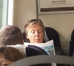 PAUL ON A TRAIN, WITHOUT CUSTODY