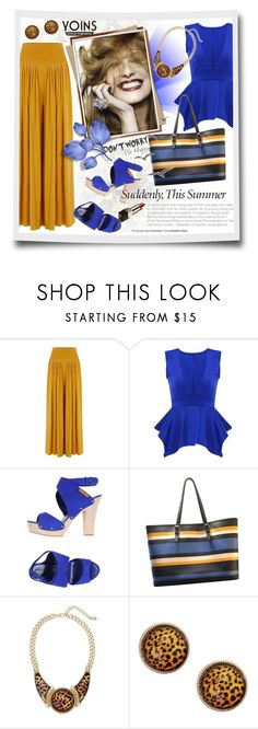 """Yoins 11"" by tanja133 ❤ liked on Polyvore featuring Sergio Rossi, Michael Kors, Jardin, yoins, yoinscollection and loveyoins"