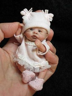 miniature baby dolls - Google Search