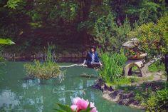 The-Fashion-Jumper---japanese-garden---3 Bridges, Jumper, Golf Courses, Japanese, Places, Garden, Fashion, Moda, Garten