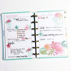 #tbtplannerpast started by my Ride or Die @thenotableliz // I don't really have anything clever to say I just really liked this… happy planner