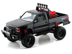 1992 Chevy 454 SS Pickup Off Road 1/24 Black
