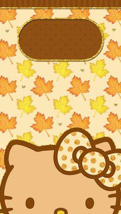 #digitalcutewalls Hello Kitten, Hello Kitty Art, Summer Wallpaper Phone, Cellphone Wallpaper, Thanksgiving Wallpaper, Holiday Wallpaper, Hello Kitty Backgrounds, Hello Kitty Wallpaper, Name Wallpaper