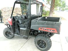 New 2016 Polaris Ranger® 570 ATVs For Sale in California. Get more done around home or property Powerful 44 hp ProStar® EFI engine Increased suspension travel and refined cab comfort, including Lock & Ride® Pro-Fit integration Dimensions: - Wheelbase: 73 in. (185.4 cm) Other: - Notes: RANGER® Models Warning: The Polaris RANGER® can be hazardous to operate and is not intended for on-road use. Driver must be at least 16 years old with a valid driver's license to operate. Passengers must…