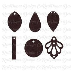 a72e77073 TearDrop Stacked earring SVG DXF | SVG DXF Earring's Cut files for Cricut  or Silhouette Cameo | Pinterest | Earrings, Leather Earrings and Cutting  files