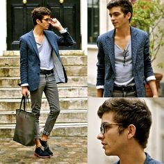Sandro Blazer, Givenchy Glasses Vgv800, Lanvin Pvc Bag, Fairmount Derbies, Cheap Monday Jeans, Zara Tee