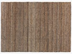 HURST NEUTRAL Jute Natural jute rug - Rugs- HabitatUK