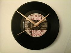 Check out this item in my Etsy shop https://www.etsy.com/uk/listing/286079013/wings-let-em-in-7-record-clock-birthday