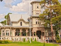 Known for its long tradition in bobbin lace-making and the well-preserved wooden buildings of Old Rauma.