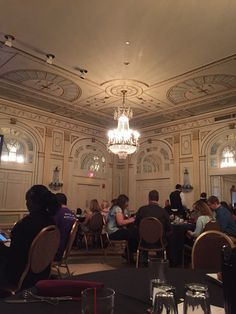 Ballroom in the Brown Hotel