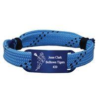 Personalized Lacrosse Shooting String Bracelet Girl Player Adjustable Shooter Bracelet -LE
