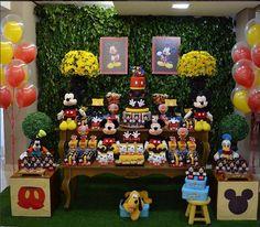 Créditos: @maosquecriamfestas Festa Mickey Mouse