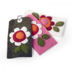Felt Flower Tags (Stephanie Ackerman Flower Layers #6 die & Sizzix Bigz Die Tags #5)