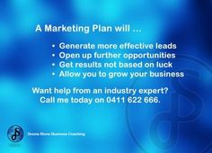 #BusinessCoach #MarketingPlan