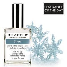 Fragrance of the Day for July 22, 2013 is Snow. On this day in 2005, March of the Penguins, a French-made documentary about emperor penguins in Antarctica, opens in theaters across the United States. March of the Penguins went on to win numerous awards, including an Oscar, and became one of the highest-grossing documentaries in movie history. Click www.DemeterFragrance.com to receive 50% off Demeter Snow with code 3296250.  Click 'like' if this documentary warmed your heart.